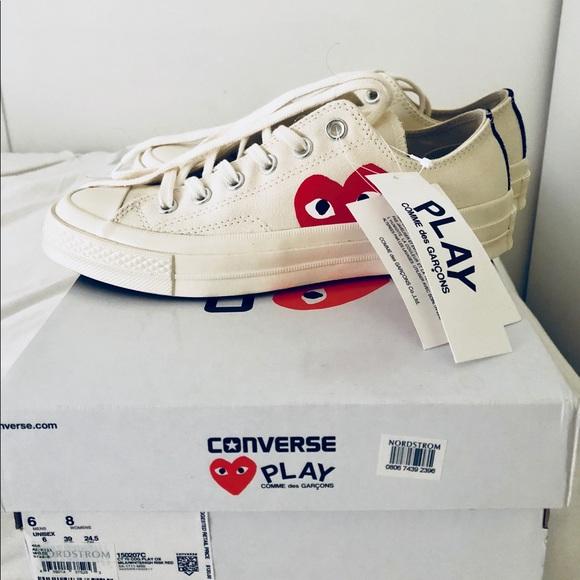 fd9fd61388fa NWT Converse x Comme des Garçons Sneaker